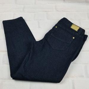 🌼 Rewash Dark Wash Cropped Skinny Jeans